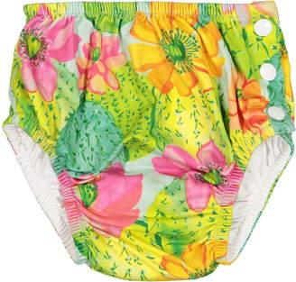 Masala Baby Cactus Floral Swim Diaper Cover