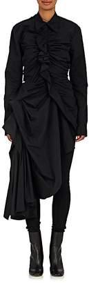 Yohji Yamamoto Women's Gathered-Detail Polished Jacket $2,100 thestylecure.com