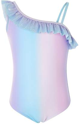 Accessorize Girls Mermaid Ombre Swimsuit
