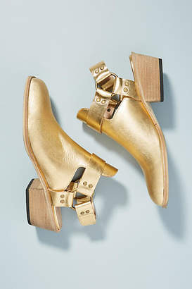 Anthropologie Silent D Lissas Slingback Booties