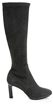 Aquatalia Women's Rhumba Suede Knee-High Boots