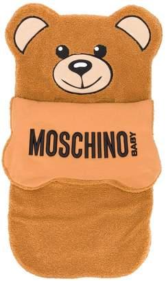 Moschino Kids toy bear sleeping bag
