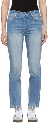 Amo Blue Rad Wash Lover Jeans