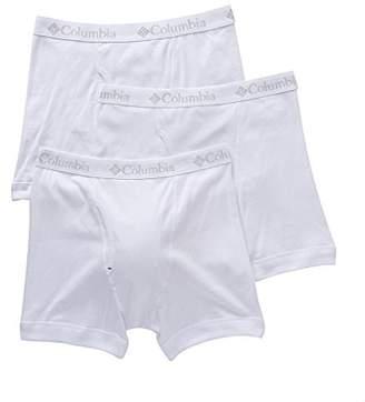 Columbia Men's 100% Pure Cotton 3 Pk Boxer Brief