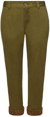 Current/Elliott The Confidant Cropped Cotton Pants