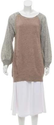 Clu Colorblock Crew Neck Sweatshirt