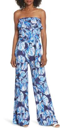 Lilly Pulitzer R) Aleatha Strapless Jumpsuit