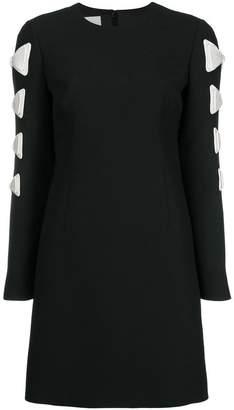 Valentino bow detailed dress