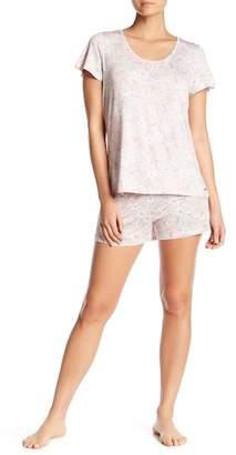 Tahari Knit Short Pajama 2-Piece Set