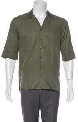 Neil Barrett Loose Fit Button-Up Shirt