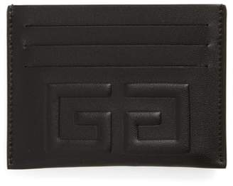 Givenchy 4G Leather Card Holder