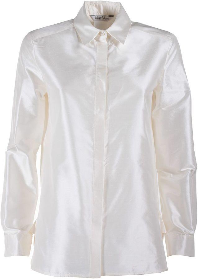 Max MaraMax Mara Beber Shantung Silk Shirt
