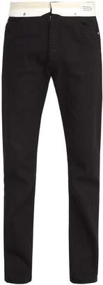 Maison Margiela Deconstructed straight-leg jeans