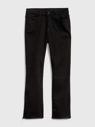 Gap Mid Rise Crop Kick Jeans