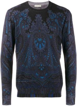 Etro vintage pattern jumper