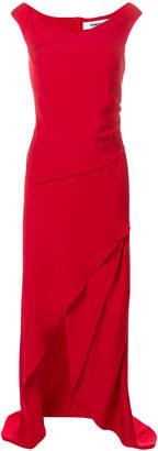 Chalayan asymmetric draped gown