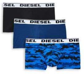 Diesel Three-Pack UMBX-Kory Boxer Briefs