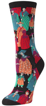 Natori Dynasty Intarsia Socks
