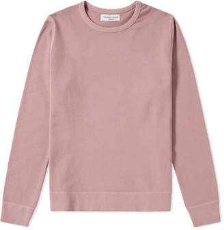 Officine Generale Garment Dyed New Sweat