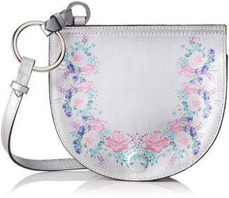 CHICCA Borse Women's CBS178484-136 Shoulder Bag Silver Silver (silver silver)