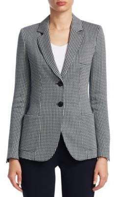 Emporio Armani Two-Button Patch Pocket Jacket