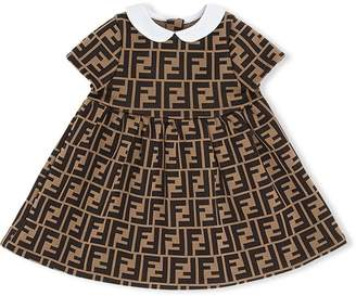 1b2c4b680e98a Showing 1716 Clothing For Kids filtered to 1 brand. at Farfetch. Fendi FF  logo print dress