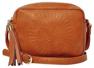 Urban Originals Wild Rose Embossed Vegan Leather Shoulder Bag