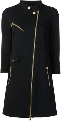 Moschino off-centre zipped dress