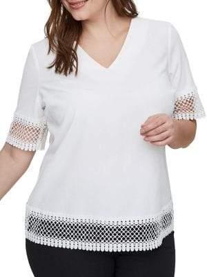 Junarose Plus Darby Short Sleeve Top