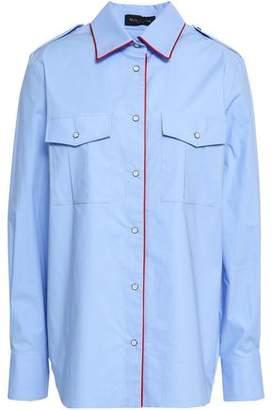 Piazza Sempione Stretch-cotton Poplin Shirt