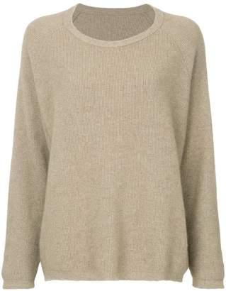Zambesi elbow patch oversize Fisherman sweater
