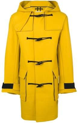Kenzo hooded midi coat