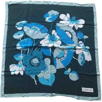 Carven Vintage Green Silk Silk handkerchief