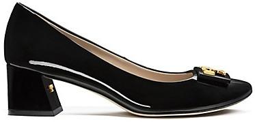 Tory Burch Gigi Patent Mid-Heels Pump
