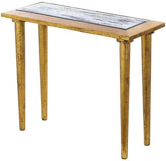 Corbett Mirrored Console - Gold - Bradburn Home
