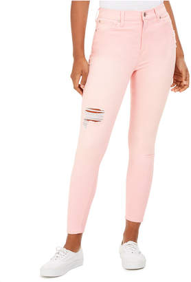 Celebrity Pink Juniors' Colored Skinny Ankle Jeans