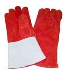 "Russet FirePower Firepower 1423-0051 14"" Welders Gloves With Thumb Strap, Large"