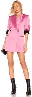 MSGM Satin Blazer Dress