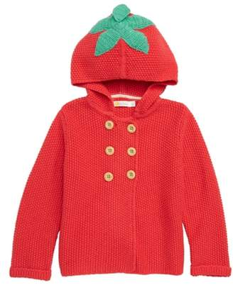 Boden Mini Hooded Knit Jacket