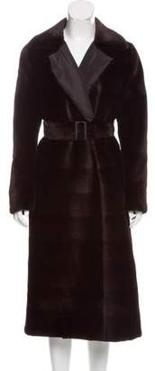 Oscar de la Renta Reversible Fur Coat w/ Tags