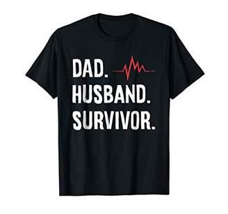 Dad. Husband. Survivor. Get Well Soon Recovery Shirt