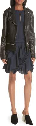Jason Wu GREY Lambskin Leather Jacket