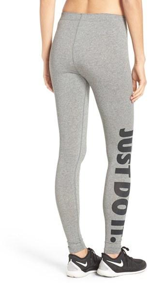 Women's Nike 'Leg-A-See' Jersey Leggings