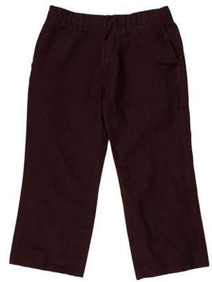 Marni Cropped Linen Pants