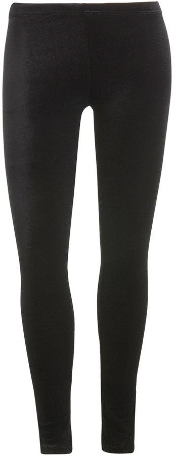 Velvet Ankle Legging