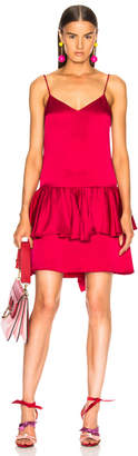 Stella McCartney Peplum Sleeveless Mini Dress