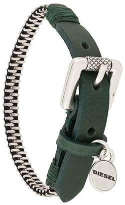 Diesel engraved buckle cuff