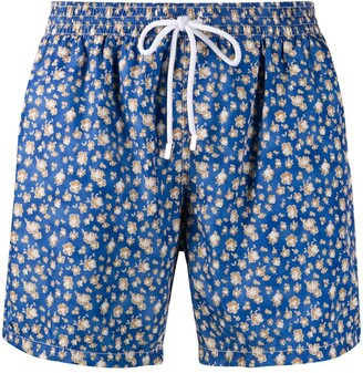Barba mid length swim shorts