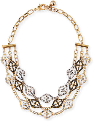 Lulu Frost Gloria Crystal Statement Necklace
