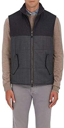 Luciano Barbera MEN'S WOOL- & CASHMERE-BLEND VEST